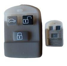 Rubber button pad for Hyundai Accent Sonata 3 button remote alarm key fob