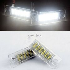 2X LED License Plate Light Lamps Bulbs for Volkswagen VW Touran Golf MK3 -White
