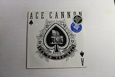 ACE CANNON Ace In The Hole LP Allegiance AV-5024 US 1984 M Sealed w/ Sticker 1A