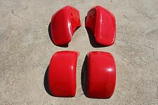 HONDA FL250 ODYSSEY FRONT AND REAR FENDER 77-84 RED