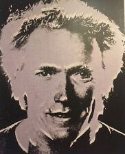 Andy Warhol, Clint Eastwood,Sylvester Stallone Mini Poster Pop Art 29x24.5cm 244