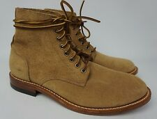 Oak Street Bootmakers Plain Toe Rough Out Trench Boot Size 10 D NEW!!