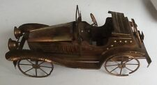 MODEL VINTAGE CYCLECAR CAR STYLISED MUSICAL BOX . UNUSUAL & INTERESTING