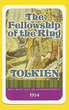 J.R.R. Tolkien Lord of the Rings Author Cool Collector Card from Europe
