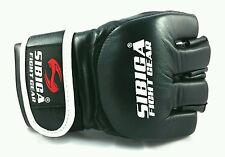 SIBIGA 7oz Black MMA Gloves.Large/Xl.sparing. kyokushin.karate