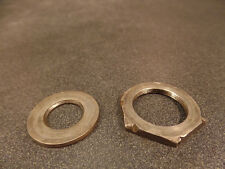 1941 41 INDIAN SPORT SCOUT MOTOR SPROCKET GEAR NUT WITH WASHER