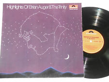 HIGHLIGHTS OF BRIAN AUGER & THE TRINITY - LP Polydor