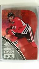 2011-12 SP Authentic Brandon Saad Holo FX Red Die-Cut SP RC RFX4