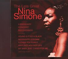Nina Simone / Legendary Concert Recordings