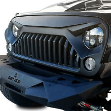Upgrade Angry Bird topfire Front Matte Grill Grille For Jeep Wrangler 07-16 JK