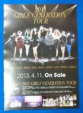 Girls' Generation SNSD - 2011 Tour  Official Poster New K-POP