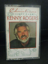 CHRISTMAS WISHES FROM KENNY ROGERS, CASSETTE TAPE, 1995