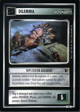 STAR TREK CCG THE BORG RARE CARD REPLICATOR ACCIDENT