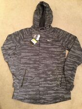 Nike Shield Max Flash 3m Reflective Hooded Jacket, 684013 010, Small, BRAND NEW