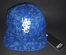 MENS WESC BLUE SNAPBACK ADJUSTABLE HAT CAP ONE SIZE