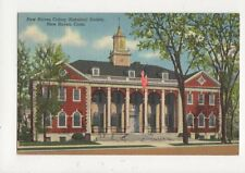 New Haven Colony Historical Society Conn Vintage USA Postcard 507a
