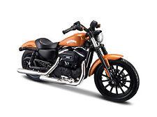 Harley Davidson 2014 Sportster Iron 883 orange Maßstab 1:18 von maisto