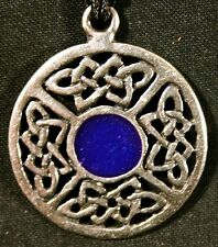 Celtic Legend Pendant -  O'Neill Clan Origins -blue