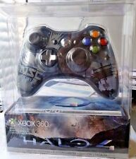 NEW XBOX 360 HALO 4 Limited Edition Wireless Controller Clear Black UNSC SEALED