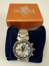 Final Fantasy VIII 8 Watch in box Stainless steel Water Resident Good Condition