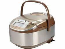 Tatung Micom Fuzzy Logic Multi-Cooker and Rice Cooker, Champagne, 16 Cups Cooked