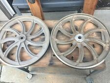 "Delta Rockwell 14"" Band Saw Wheels Great Bearings Bandsaw Ready 2use"