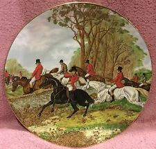 Fox Hunting Herring Hunt Plate Elizabethan #2