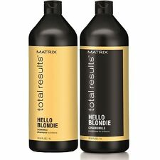 Matrix Total Results Hello Blondie Shampoo and Conditioner 1 Litre Duo Pack