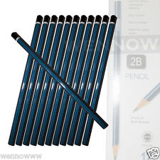 24 Pcs Premium Quality Pencil 2B For Drawing, and Sketching