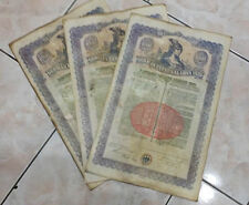 German 1924 External Loan  $1000 Dollars 10 bonds running numbers