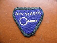 Vintage Australian Cub Scout Collector Proficiency Cloth Badge from the 1960's