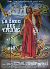 CLASH OF THE TITANS - RAY HARRYHAUSEN / ORIGINAL LARGE FRENCH MOVIE POSTER