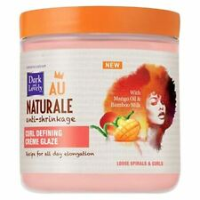 Dark and Lovely Au Natural Curl Defining Creme Glaze 14 oz (Pack of 2)