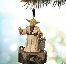 NEW Disney Yoda Talking Sketchbook Ornament From Star Wars Movie Collectible NIB