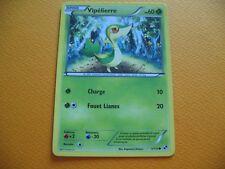 Carte Pokémon - Vipélierre - 1/114 - Noir et blanc - 2011