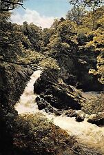 BR75887 conway falls and salmon ladder  betws y coed   wales