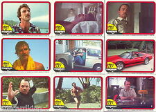 MAGNUM P.I (PI) - Trading Card Set (66) - Donruss 1982 - NM