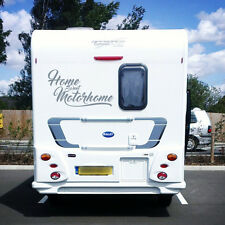 """Home Sweet Autocaravana"" Autocaravana VINILO STICKER/DECAL, Caravana, Horsebox 2 línea"