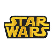 Star Wars Patch Embroidered Movie Iron On Sew On Patches