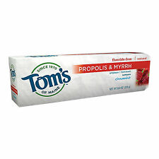 Toms of Maine Antiplaque Paste with Propolis and Myrrh - 5.5 oz Toothpaste