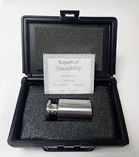 DENVER 2000g CLASS 1 ANSI / ASTM CALIBRATION WEIGHT 2KG STAINLESS STEEL w/ CASE