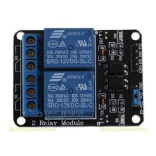 12V 10A 2 Channel Relay Board Module with OPTO Coupler for raspberry pi, arduino
