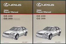 2004 Lexus GS300 GS400 Repair Shop Manual Set NEW Original GS 300 400 OEM Books