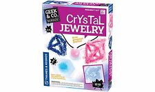 CRYSTAL JEWELRY KIT BRAND NEW BY GEEK & CO SCIENCE AGES 8+ LEARN ABOUT CHEMISTRY