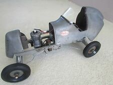 1939 Speed Chief tether race car Super Cyclone 60 spark ignition 20 in. long
