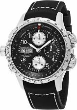 Hamilton Men's X Wind Black Rubber Strap Chronograph Automatic Watch H77616333