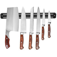 "13"" Wall Mount Magnetic Knife Scissor Storage Kitchen Utensil Holder Rack Strip"