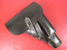 WWII German Leather Holster for the Browning Hi Power P35 Pistol - Repro