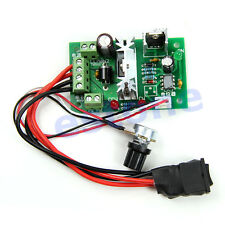 DC Motor Speed PWM 6V-30V 10A 0% -100% Pulse Width Modulation Controller Switch
