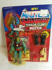 Masters Of The Universe TERROR CLAWS SKELETOR 1985 Original SEALED - MOC